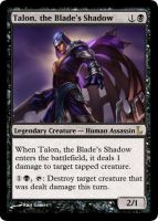 MtG - Talon, the Blade's Shadow by soy-monk