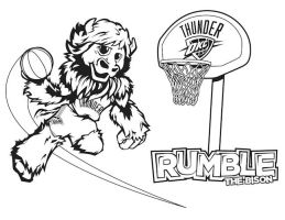 Rumble Kid's Coloring Sheet by BHoss1313