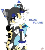 BLUE Flare .:GIFT:. by xXLisanneTheCatXx