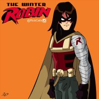 The Winter Robin by RickCelis