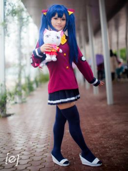 Wendy Marvell and Carla Cosplay by DatAsianChick