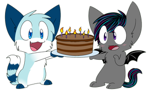 Happy Birthday to Us! by Rainy-bleu