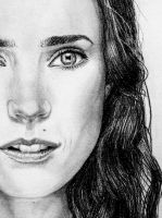 Jennifer Connelly close up by Galbatore