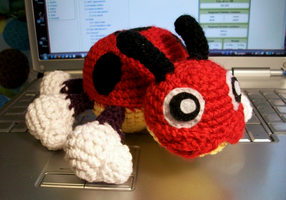 Ledyba Crochet Plush by First-Mate-Kate