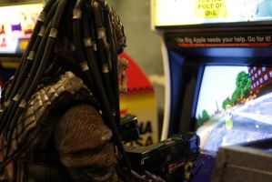Going for the high score by PedroTpredator