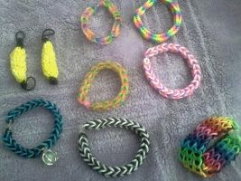 Loom Bands My Collection 1 by CeriseEliCore