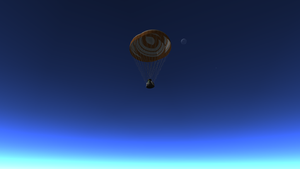 Mun and Minmus in the Sky by menalaos1971
