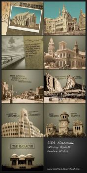 Old Karachi Title Animation by aliather
