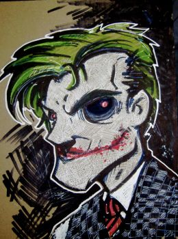 Sketch of the day New Joker by UMINGA