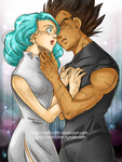 DBZ - Luck is in Soul at Home - Vegebul by RedViolett