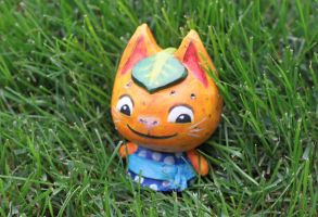 Tangerine Cat by silicon-jayce