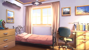 Cozy bedroom by Badriel