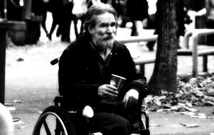 Man in Wheelchair by TikiLlanes