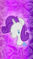 Rarity iphone 5 wallpaper by SuzyQ2pie