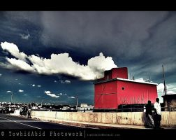 The burning House by towhidabid