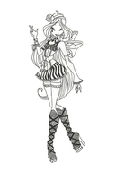 Winx Club Hallowinx Flora coloring page by timefairy237