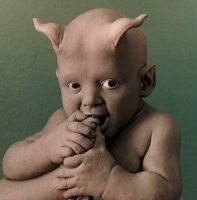 demon baby by barbelith2000ad