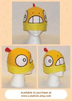 Scraggy Zuruggu Pokemon Hat by cutekick