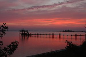 Sunrise on the Indian River by Dyflam