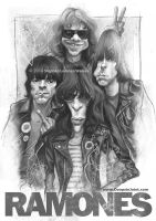 RAMONES By Stephen Lorenzo Walkes by lorenzowalkes