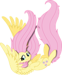 Falling Fluttershy by MacTavish1996 by MacTavish1996