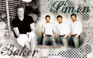Simon Baker by WATelse