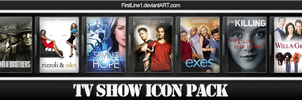 TV Show Icon Pack 13 by FirstLine1