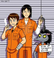 Ben10 in Jail by 4eknight11