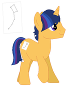 MLP OC: Astral Sketch by RaindropLily
