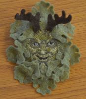 Greenman by imagination-heart