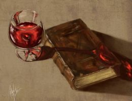 Digital Still Life Study by melaniey