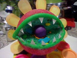 Plant Cell Model: Petey Piranha by SapphireLiz