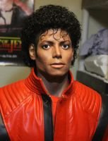 Michael Jackson Thriller lifesize bust 2.0 by godaiking