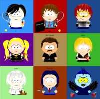 Death Note South Park Style. by ArtistGrace