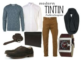 Modern Tintin by SouthernImagineer