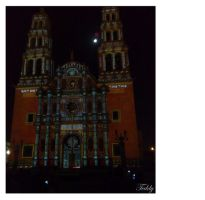 catedral iluminada by artteddy