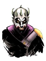 Darth Maul/Joker Mash Up by MatthewPetz
