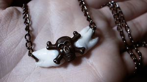 Wisdom Tooth Necklace (Commission) by princevansii