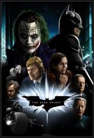 The Dark Knight Poster by DorkyFresh