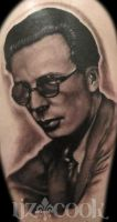 Aldous Huxley by LizCookTattoo