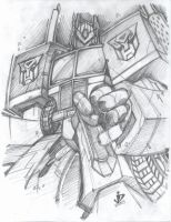 Rage of Optimus Prime Pencils by arsenalgearxx