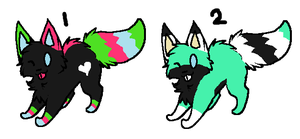 3 point cat adopts CLOSED by AmazingAdoptablez
