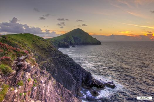 Westerly View of Ballydavid Head by cprmay