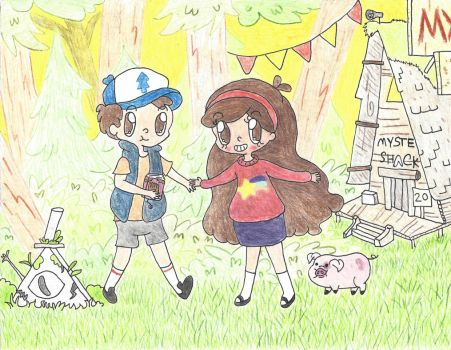 Mystery Twins by ambidextrious-witch