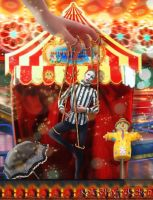 Puppet Show on the Midway by Nolamom3507
