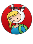 Fionna the Human Pin by BrittanysDesigns