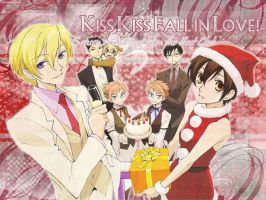 Ouran Host Club Christmas by XxGerardWayyxX