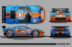 Gulf Ford GT by graphicwolf
