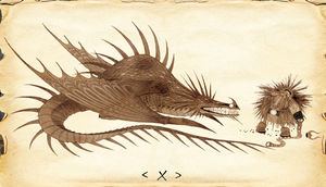 HTTYD-Skrill Official Concept Art by jacobspencer04
