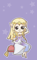 Princess Zelda by carnivalfish